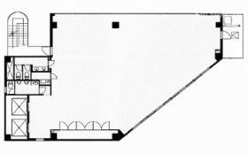 プリミエコート岸町ビル:基準階図面