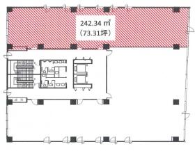 さいたま浦和ビルディング:基準階図面