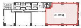 浦和システムビルヂング:基準階図面