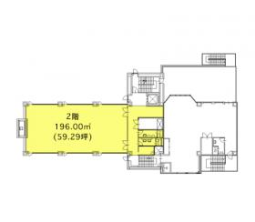 北浦和第2大栄ビル:基準階図面