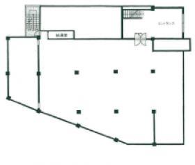 スミダ第2ビル:基準階図面