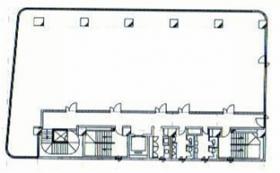 浦和ビル:基準階図面