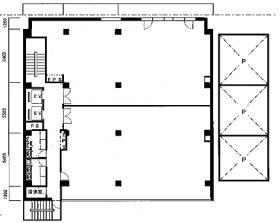 JS-1ビル:基準階図面