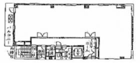 ヤギシタビル:基準階図面
