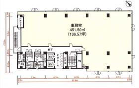NBF浦和ビル:基準階図面