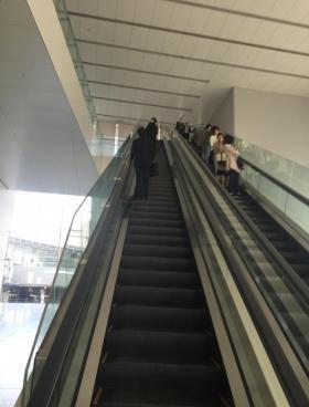 明治安田生命さいたま新都心ビルの内装