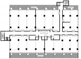 テネメント・ニッカン:基準階図面