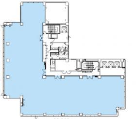 五反田イーストビル:基準階図面
