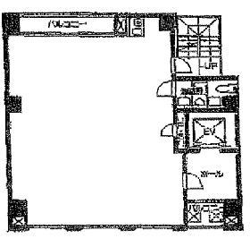 朝日ビル:基準階図面