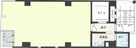 サトクラ曙橋ビル:基準階図面