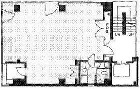 新福神ビル:基準階図面