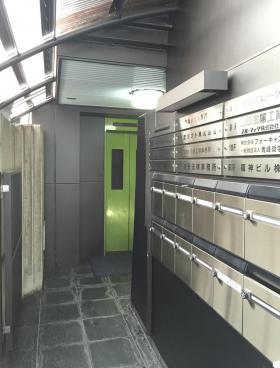 新福神ビルの内装