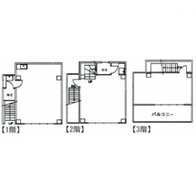 第2田中ビル:基準階図面