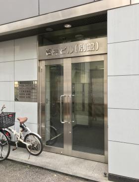 田中ビル別館のエントランス
