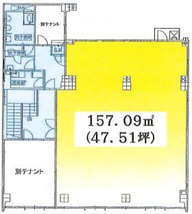 熊谷末広ビル:基準階図面