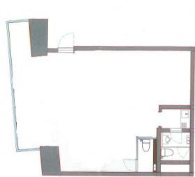 外濠スカイビルディング:基準階図面