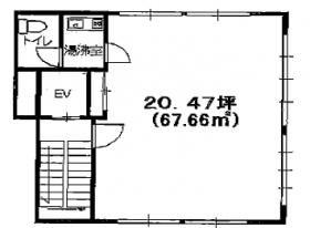 橋本第ニビル:基準階図面