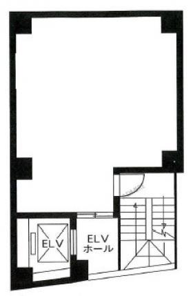東栄アネックスビル:基準階図面