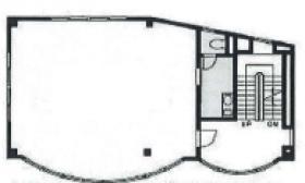 プラザ桜木ビル:基準階図面