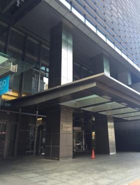 日本橋一丁目三井ビルディングのエントランス