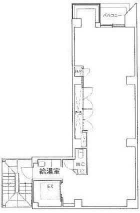 アソルティ日本橋小伝馬町:基準階図面