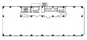 大宮下町1丁目ビル:基準階図面