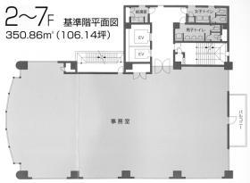 松ビル18:基準階図面