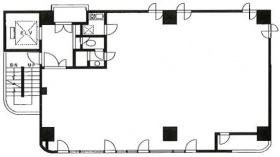アライ吉敷1丁目ビル:基準階図面