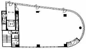 サンポウ水道橋ビル:基準階図面