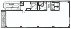 大宮あづまビル:基準階図面