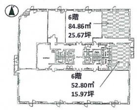 いちご大宮ビル:基準階図面