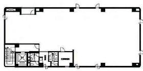 駿河台ビル:基準階図面