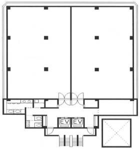 大宮中央ビルディング:基準階図面