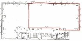 エクセレント大宮ビル:基準階図面