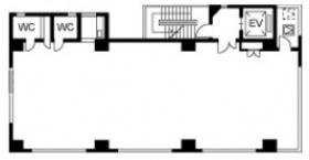ARAIビル:基準階図面