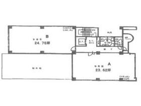 山崎第2ビル:基準階図面