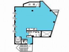オフィス21ビル:基準階図面