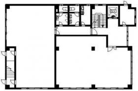 倉持興業ビル:基準階図面