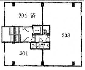 大宮ATビル:基準階図面