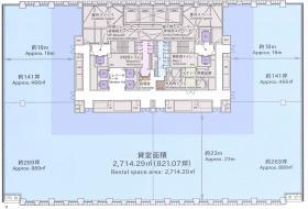 京橋エドグラン:基準階図面