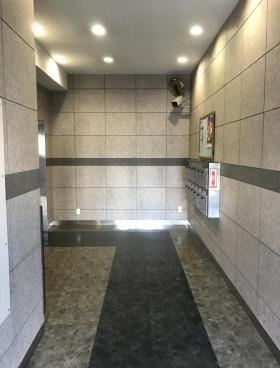 北新宿君嶋ビルの内装