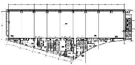 TOCみなとみらいビル:基準階図面