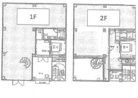 センター南駅前ビル:基準階図面