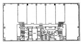 山下町SSKビル:基準階図面