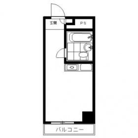 飯田橋ハイタウンビル:基準階図面