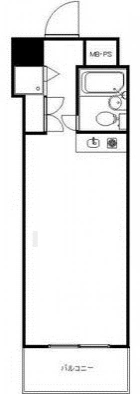 藤和ハイタウン新宿:基準階図面