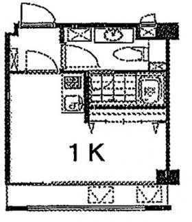 フォレスタビル:基準階図面