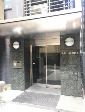 坂根八重洲ビルのエントランス