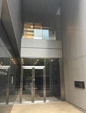 アトラスタワー西新宿のエントランス