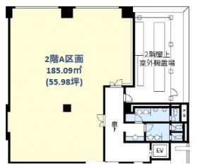 アトラスタワー西新宿:基準階図面
